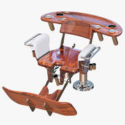 Lassen Sie den Marine Fighting Chair TRILLION FIGHTER los 3d model
