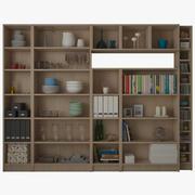 IKEA BILLY OXBERG Bookcase 3d model