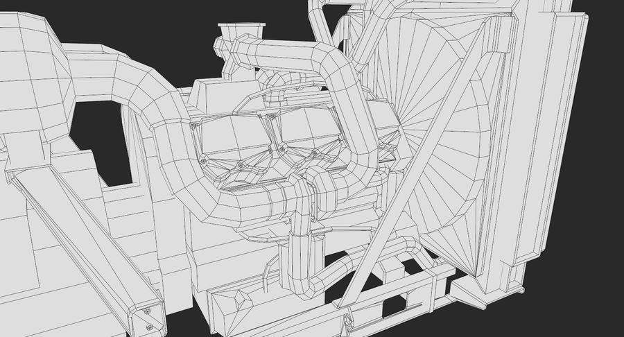 Diesel Generator royalty-free 3d model - Preview no. 13