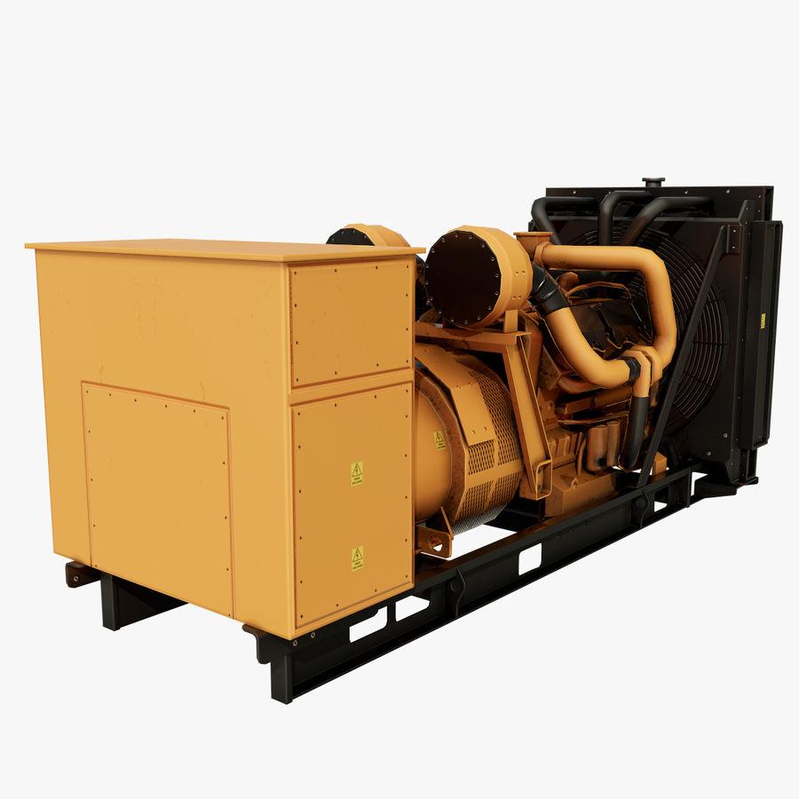 Diesel Generator royalty-free 3d model - Preview no. 1