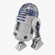 R2-D2机器人 3d model