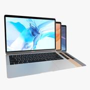 2018 MacBook Air 13英寸全彩 3d model