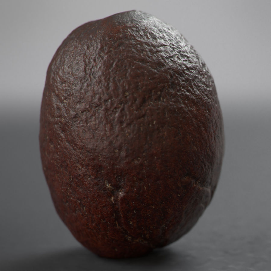 coffee beans royalty-free 3d model - Preview no. 9
