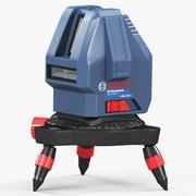 Линия лазерная Bosch GLL-15X 3d model