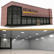 Retail Store 3d model