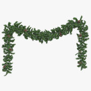 Garland Frosted Long 3d model