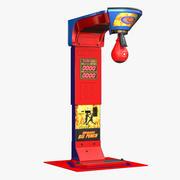 Boxning Arcade Machine 3d model