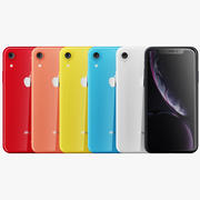 Apple iPhone XR 3d model