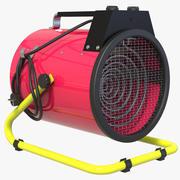 送風機ラジエーター 3d model