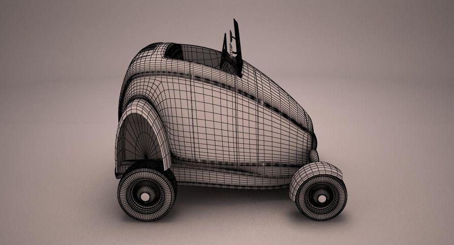 Antique Cartoon Car royalty-free 3d model - Preview no. 12