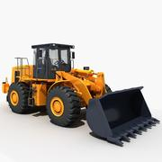 Wheel loader 3d model