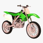 표준 크로스 크로스 자전거 3d model