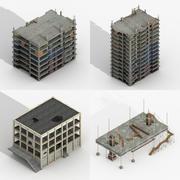 建筑建筑包 3d model