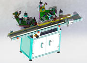 Double-sided labeling machine (90) 3d model