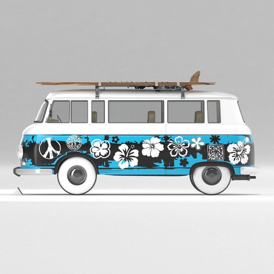 Barkas B1000 royalty-free 3d model - Preview no. 2