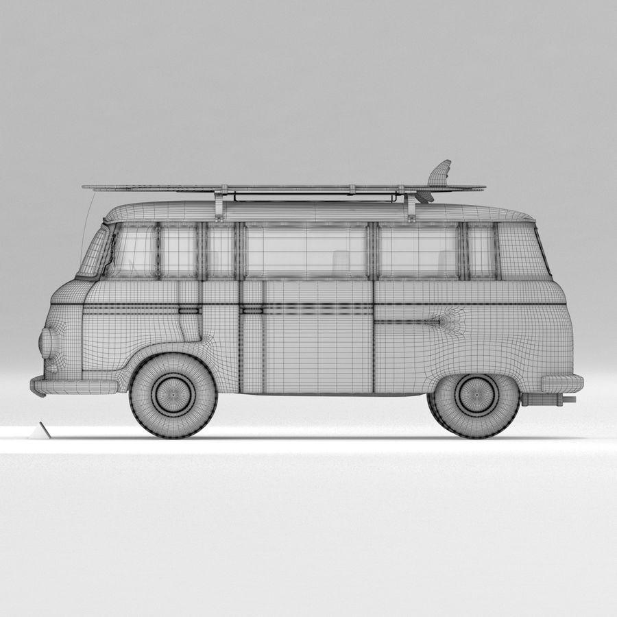 Barkas B1000 royalty-free 3d model - Preview no. 7