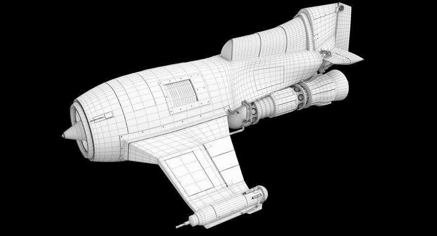 самолет royalty-free 3d model - Preview no. 32