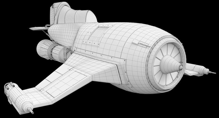 самолет royalty-free 3d model - Preview no. 27