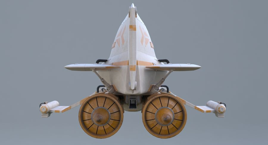 самолет royalty-free 3d model - Preview no. 10