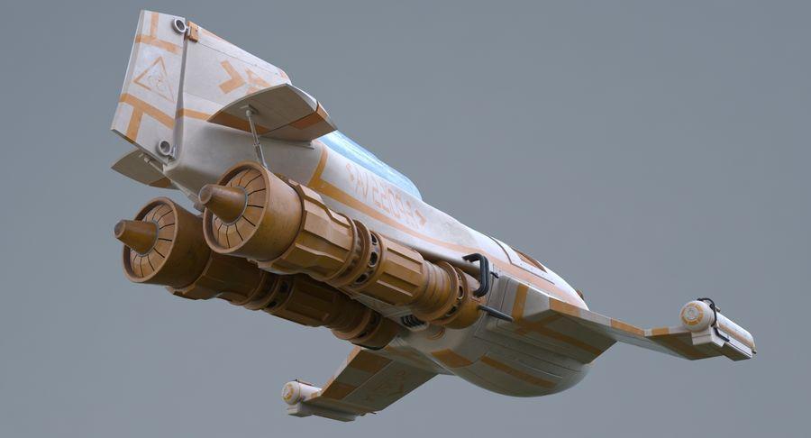 самолет royalty-free 3d model - Preview no. 12
