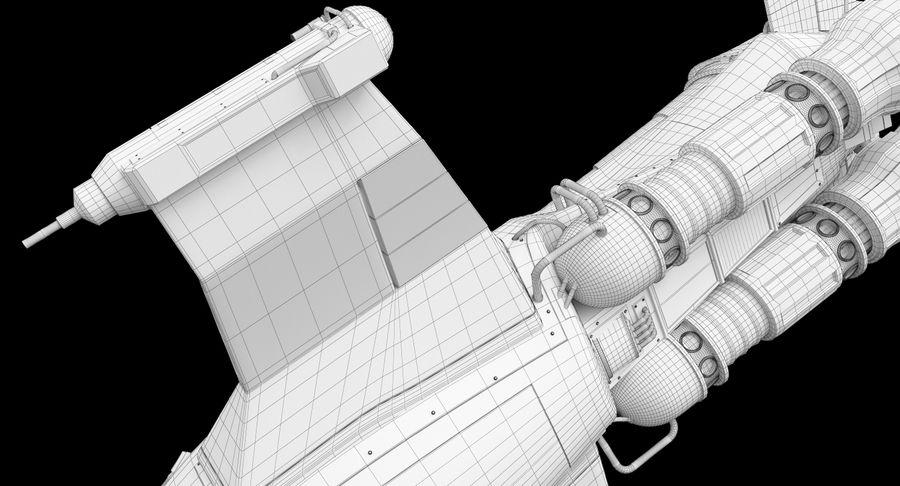 самолет royalty-free 3d model - Preview no. 46
