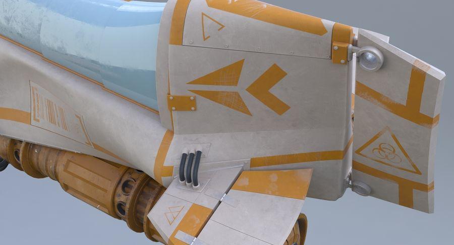 самолет royalty-free 3d model - Preview no. 24