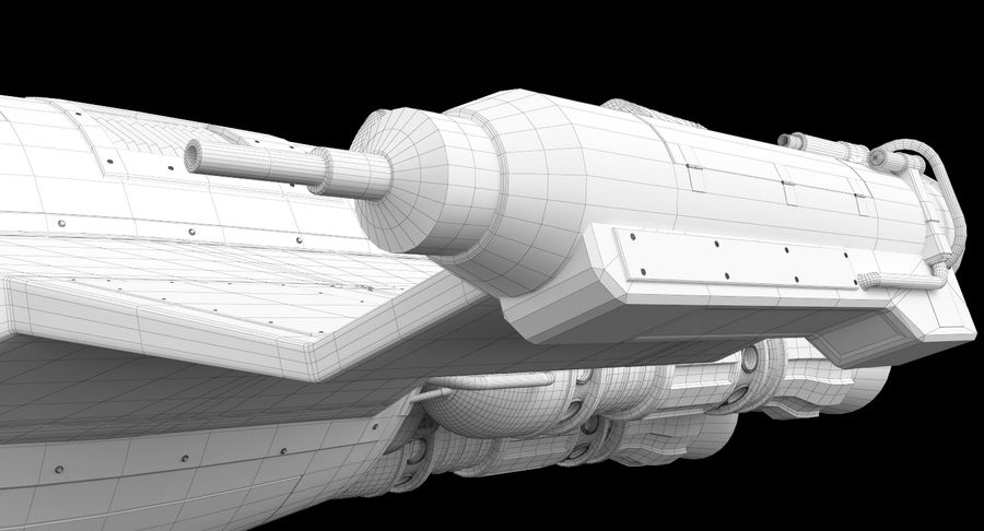 самолет royalty-free 3d model - Preview no. 42