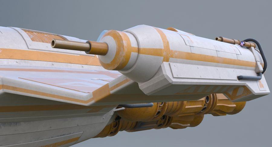 самолет royalty-free 3d model - Preview no. 18