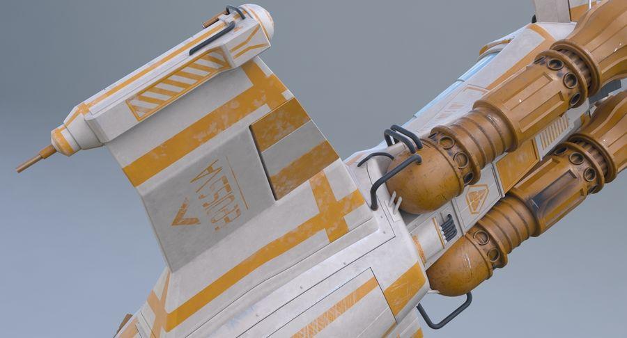 самолет royalty-free 3d model - Preview no. 26