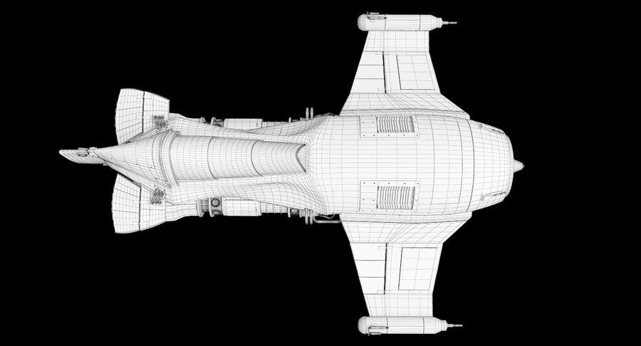 самолет royalty-free 3d model - Preview no. 39