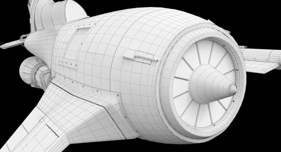самолет royalty-free 3d model - Preview no. 43