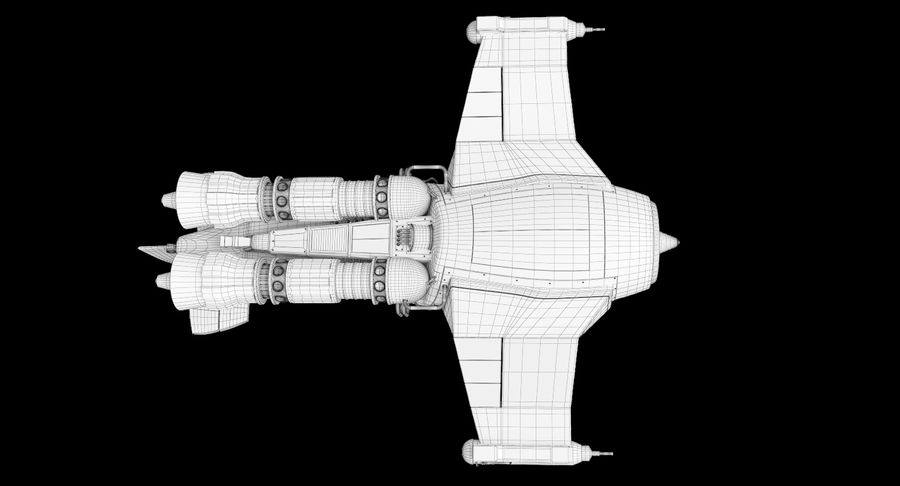самолет royalty-free 3d model - Preview no. 41