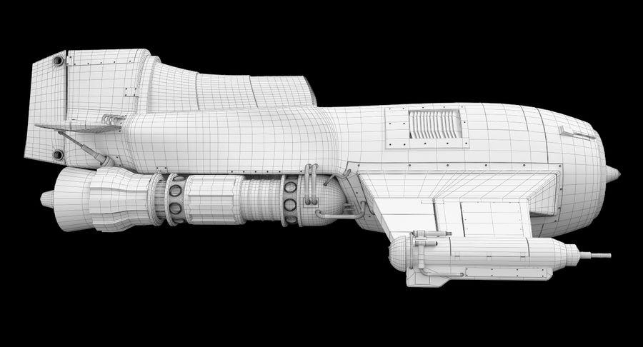 самолет royalty-free 3d model - Preview no. 28