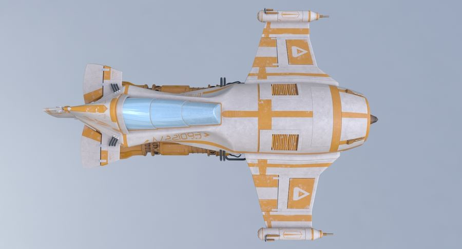 самолет royalty-free 3d model - Preview no. 14