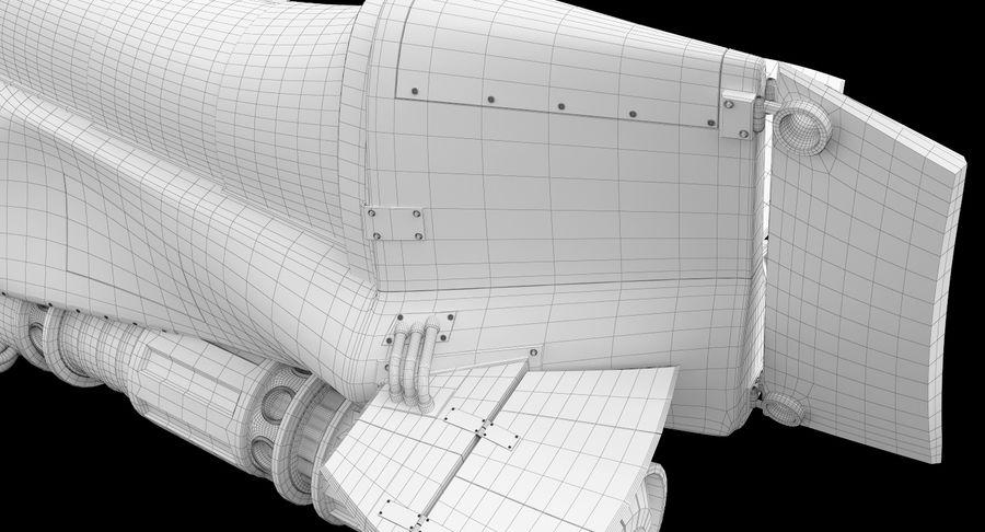 самолет royalty-free 3d model - Preview no. 45