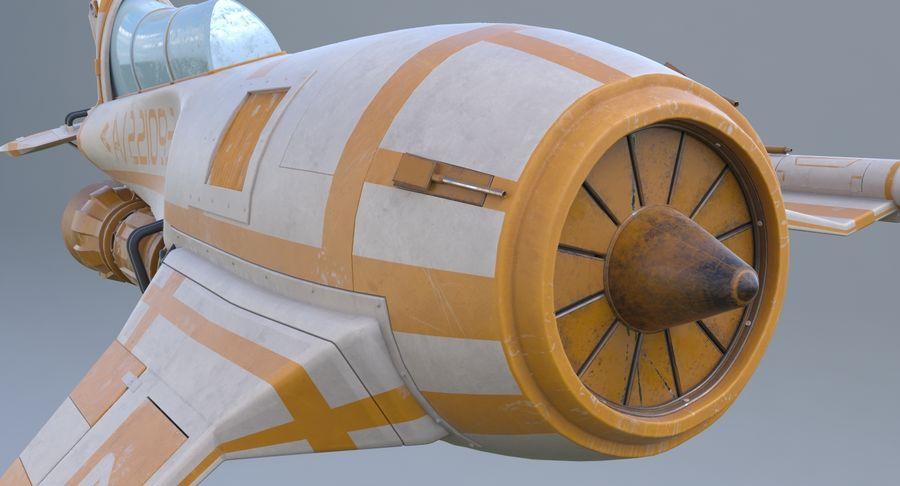 самолет royalty-free 3d model - Preview no. 20