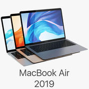 Apple MacBook Air 13-inch 2018 All Color 3d model