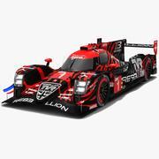 Rebellion Racing R13 LMP1 WEC Season 2018 2019 3d model