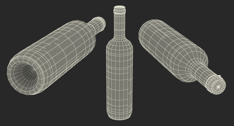 Wine Collection 2 royalty-free 3d model - Preview no. 38