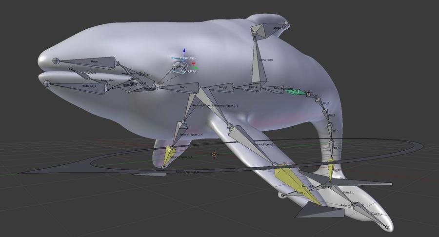 Orca Orca aparejada royalty-free modelo 3d - Preview no. 21