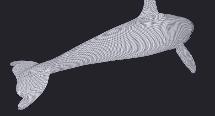 Orca Orca aparejada royalty-free modelo 3d - Preview no. 13