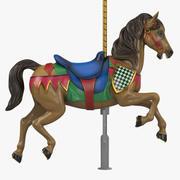 Karusellhäst v1-04 3d model
