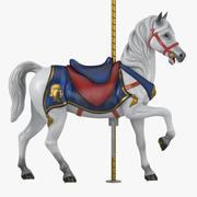 Cheval de carrousel v2-01 3d model