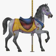 Cheval carrousel v2-04 3d model