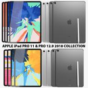 Apple iPad Pro 11 y 12.9 Wi-fi y Wi-fi + Cellular Collection modelo 3d