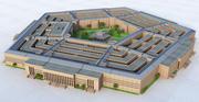 Das Pentagon, USA 3d model