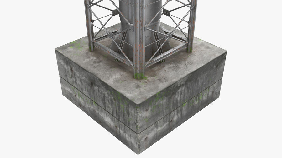 Radio Tower royalty-free 3d model - Preview no. 4