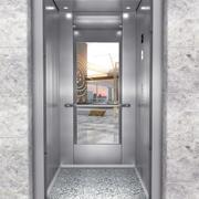 Aufzug Innenraum 3d model