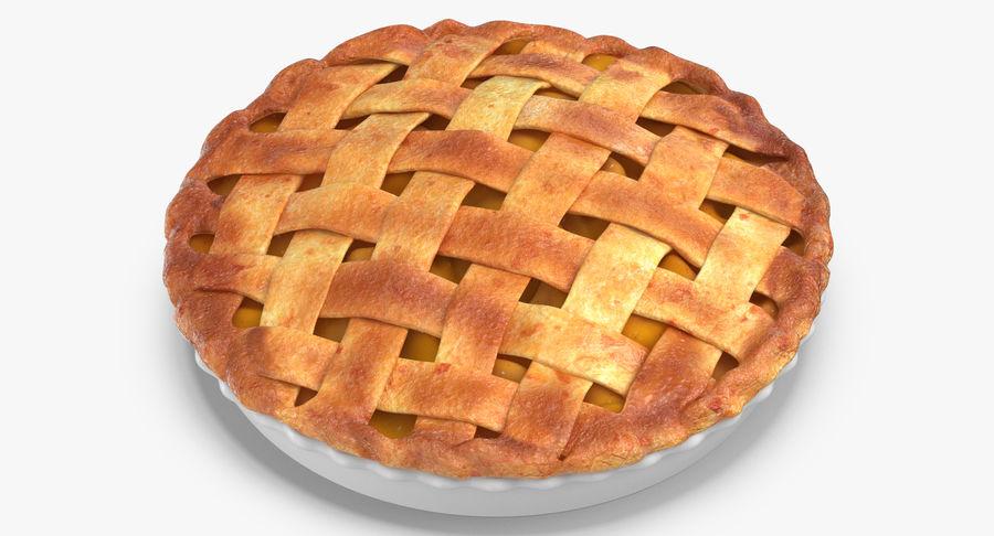 Яблочный пирог royalty-free 3d model - Preview no. 8