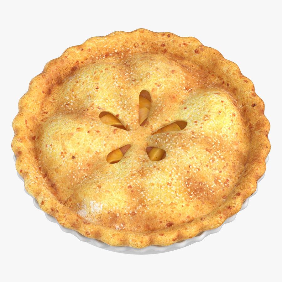 Яблочный пирог royalty-free 3d model - Preview no. 4